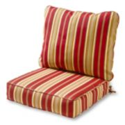 Greendale Home Fashions Deep Seat Patio Chair Cushion 2-piece Set