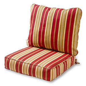 Greendale Home Fashions Deep Seat Patio Chair Cushion 2-piece Set