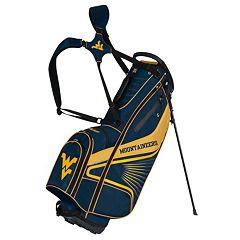 Team Effort West Virginia Mountaineers Gridiron III Golf Stand Bag