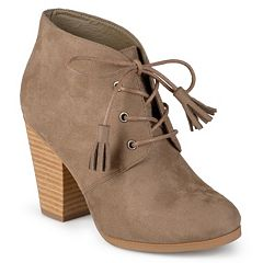 Journee Collection Wen Women's Lace-Up Ankle Boots