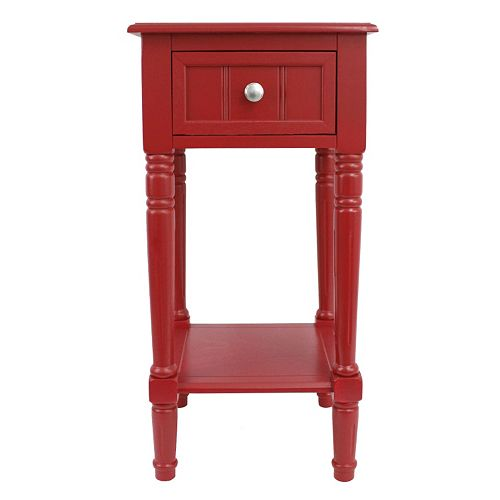 Decor Therapy Square End Table