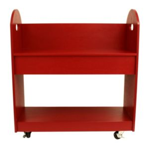Decor Therapy Rolling Bookshelf