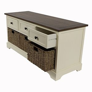 Decor Therapy Storage Bench