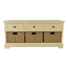 Decor Therapy Storage Bench