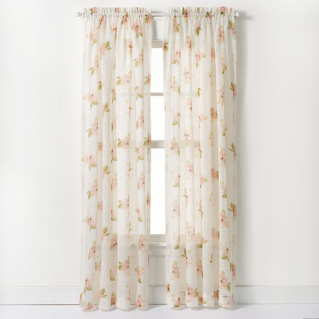 CHF Waterlilly Scroll Curtain