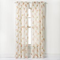 CHF Waterlilly Scroll Curtain
