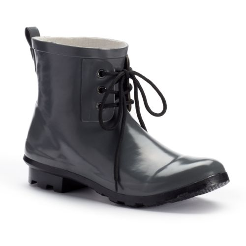 Women's Waterproof Ankle Rain Boots