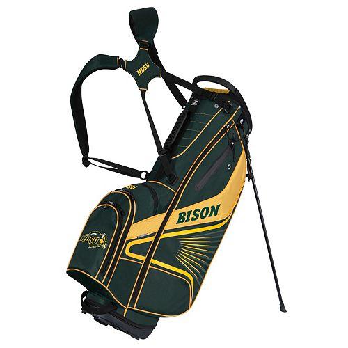 Team Effort North Dakota State Bison Gridiron III Golf Stand Bag