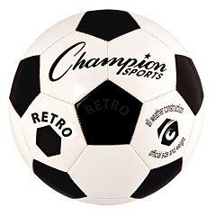 Champion Sports Retro All-Weather Soccer Ball