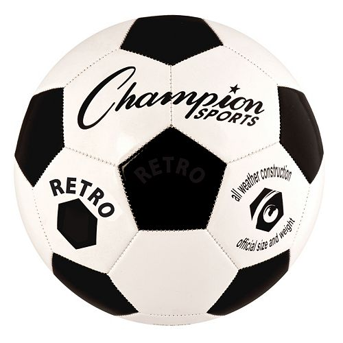 Champion Sports Retro All-Weather Soccer Ball