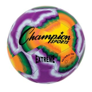 Champion Sports Extreme All-Weather Tie-Dye Soccer Ball