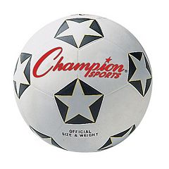Youth Champion Sports Star Rubber Cover Soccer Ball