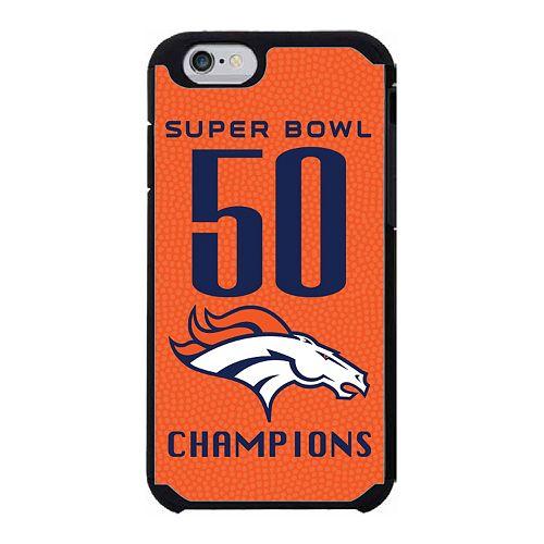 GameWear Denver Broncos Super Bowl 50 Champions iPhone 6 Case