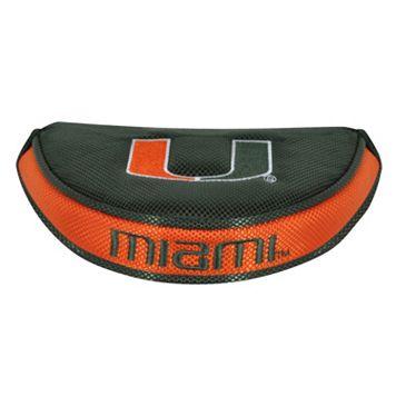 Team Effort Miami Hurricanes Mallet Putter Cover