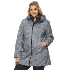 Plus Size Tek Gear® Hooded Soft Shell Jacket