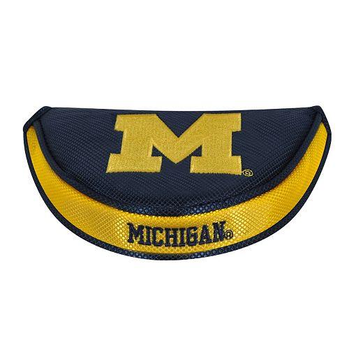 Team Effort Michigan Wolverines Mallet Putter Cover