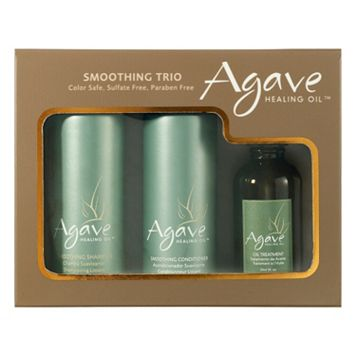 Agave Healing Oil Smoothing Trio Set