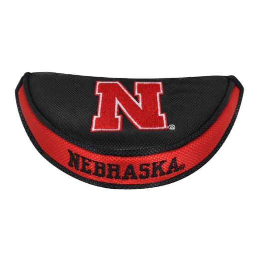 Team Effort Nebraska Cornhuskers Mallet Putter Cover