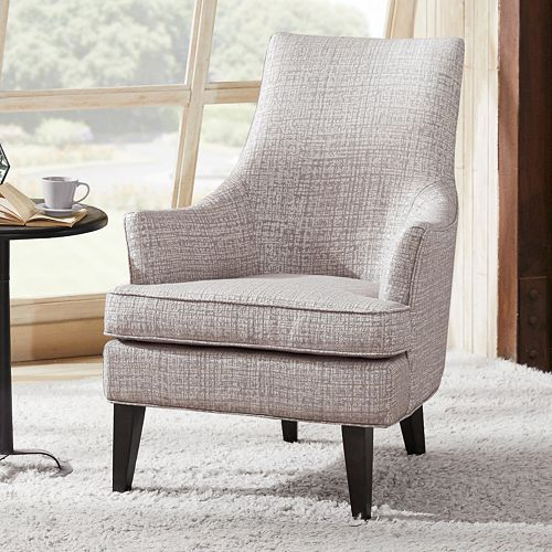 Madison Park Bristol Swoop Arm Chair