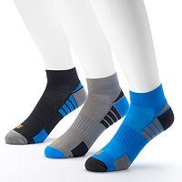 Men's GOLDTOE PowerSox 3-pack Low-Cut Socks