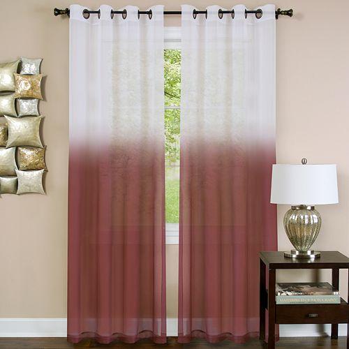Essence 1-Panel Sheer Window Curtain