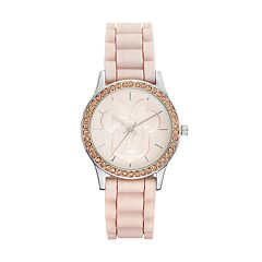 Disney's Minnie Mouse Embossed Women's Watch