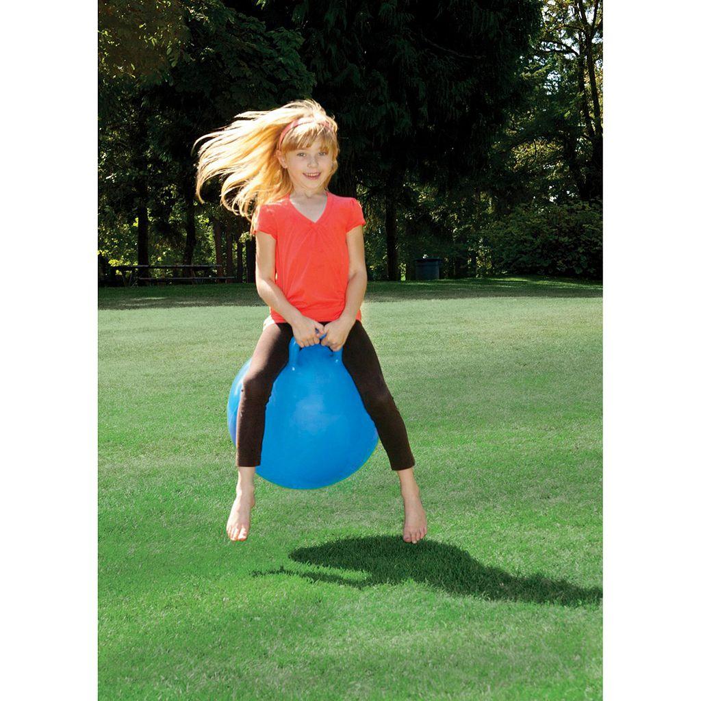 Toysmith 18-in. Hoppy Ball & Pump