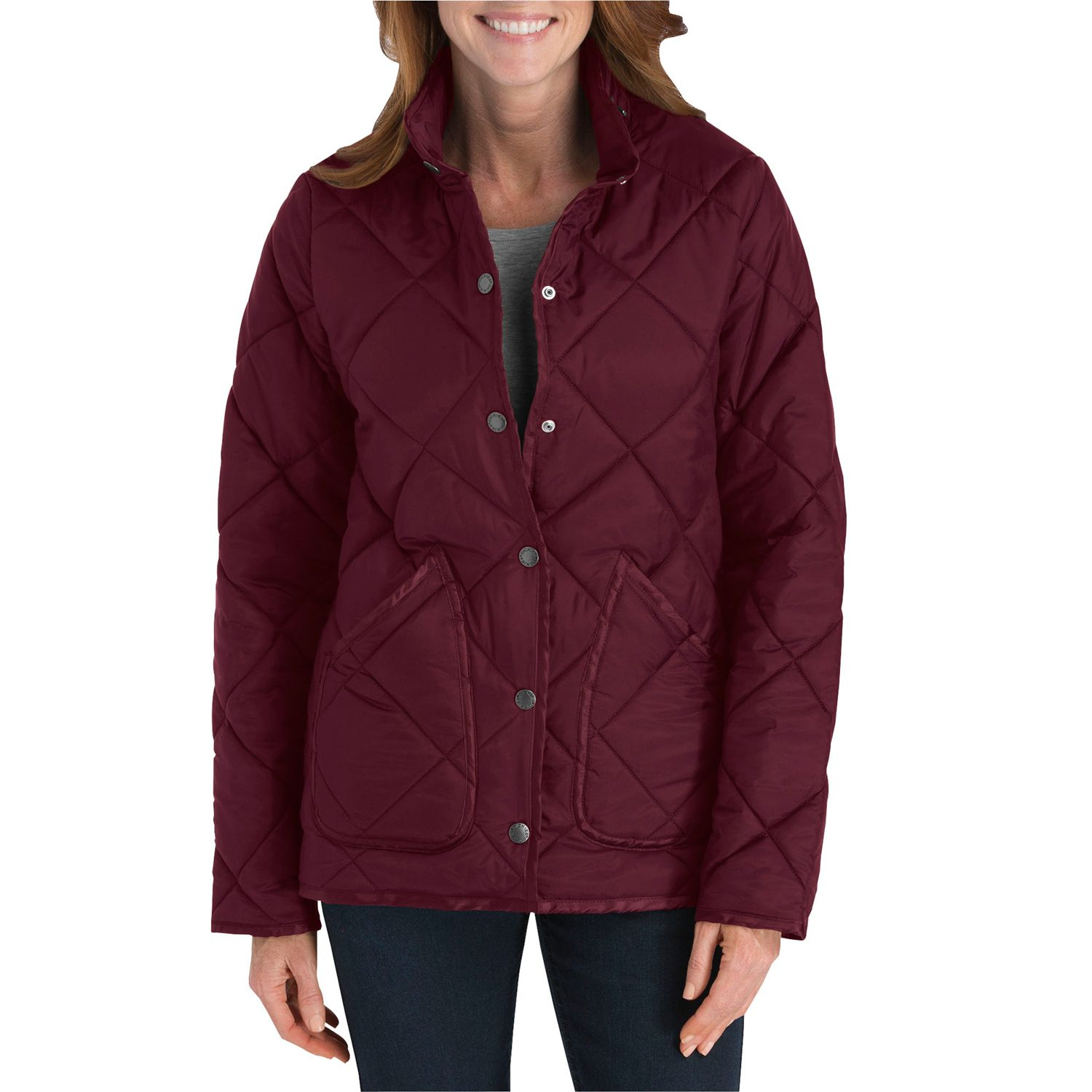 Womens Dickies Quilted Jacket