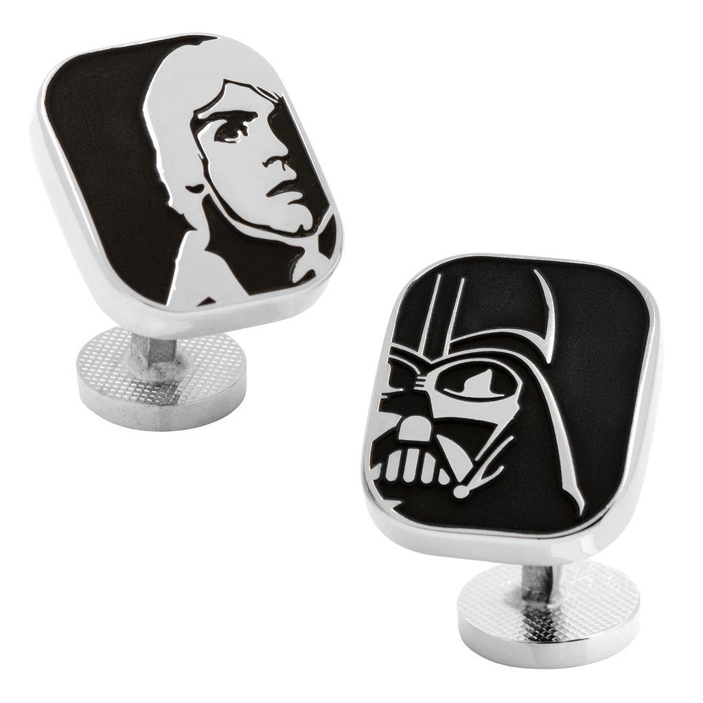 Star Wars Luke Skywalker & Darth Vader Cuff Links