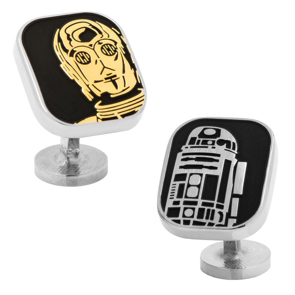 Star Wars R2-D2 & C-3PO Cuff Links