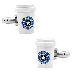 Coffee Cup Cuff Links