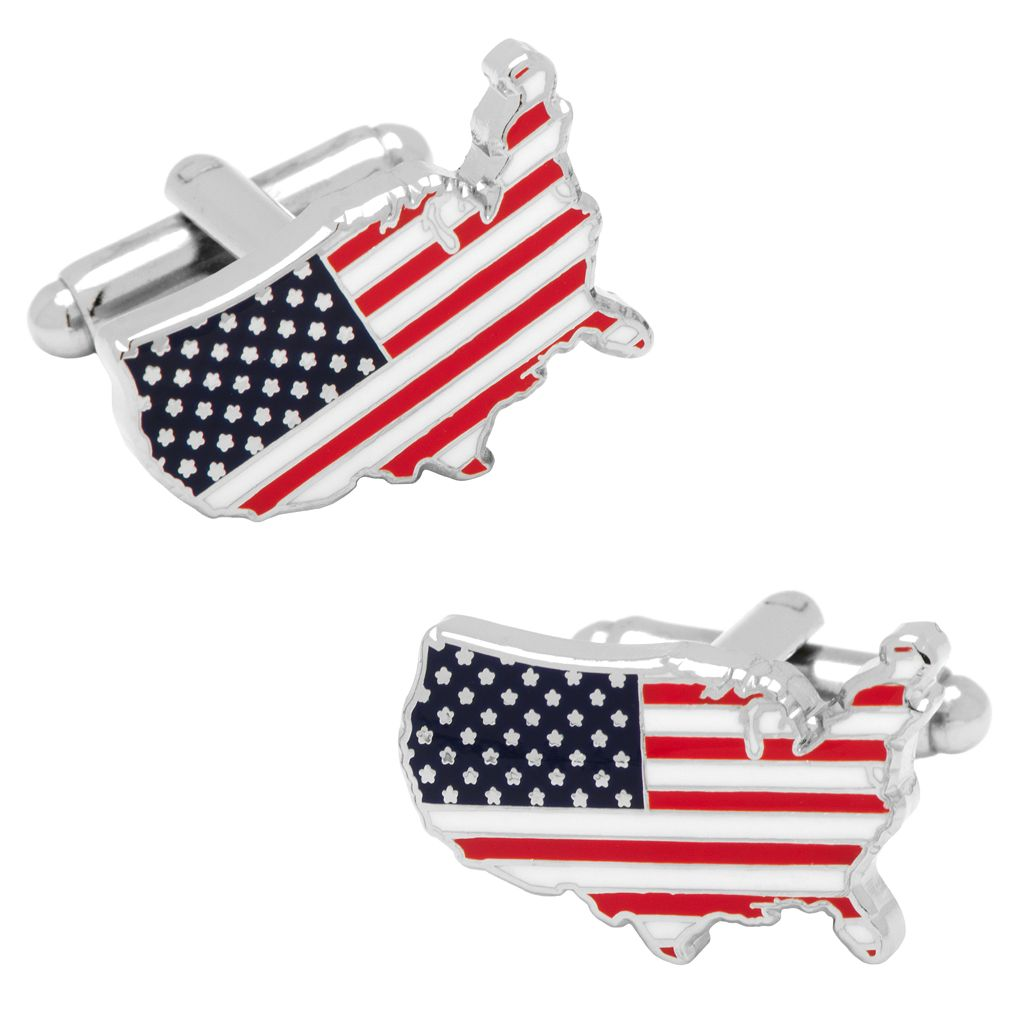 USA Flag Cuff Links