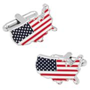 USA Flag Cuff Links