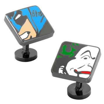 DC Comics Batman & Joker Mash Up Cuff Links
