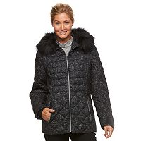 Women's ZeroXposur Sabrina Hooded Mixed-Media Puffer Jacket
