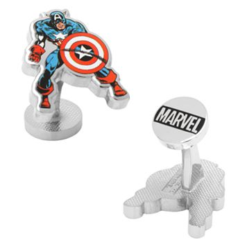 Marvel Captain America Action Cuff Links