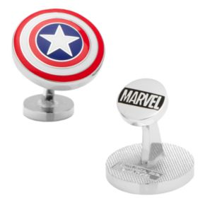 Marvel Captain America Shield Cuff Links