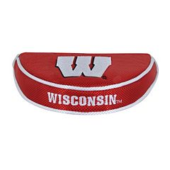 Team Effort Wisconsin Badgers Mallet Putter Cover