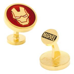 Marvel Iron Man Mask Cuff Links