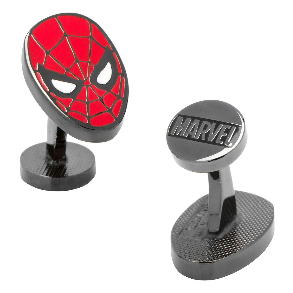 Marvel Spider-Man Mask Cuff Links