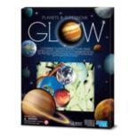 Toysmith 4M Glow-In-The-Dark Planets & Supernova Stars Foam Stick-Ons