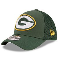 Adult New Era Green Bay Packers 39THIRTY Mega Team Flex-Fit Cap