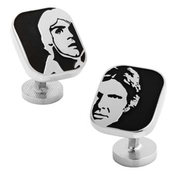 Star Wars Luke Skywalker & Han Solo Cuff Links