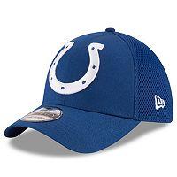 Adult New Era Indianapolis Colts 39THIRTY Mega Team Flex-Fit Cap