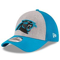 Adult New Era Carolina Panthers 39THIRTY Gray Heathered Neo Flex-Fit Cap