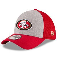Adult New Era San Francisco 49ers 39THIRTY Gray Heathered Neo Flex-Fit Cap