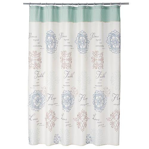 Saturday Knight, Ltd.  Karma Shower Curtain