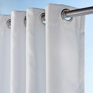 Sun Zero 1-Panel UV Blocking Reed Indoor / Outdoor Woven Curtain