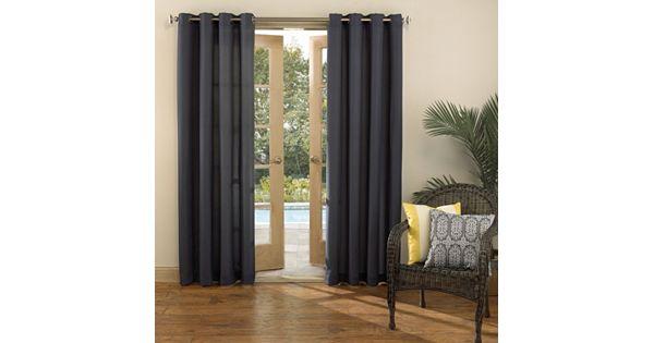 Sun Zero Uv Blocking Reed Indoor Outdoor Woven Curtain