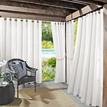 Sun Zero 1-Panel UV Blocking Reed Indoor / Outdoor Woven Curtain